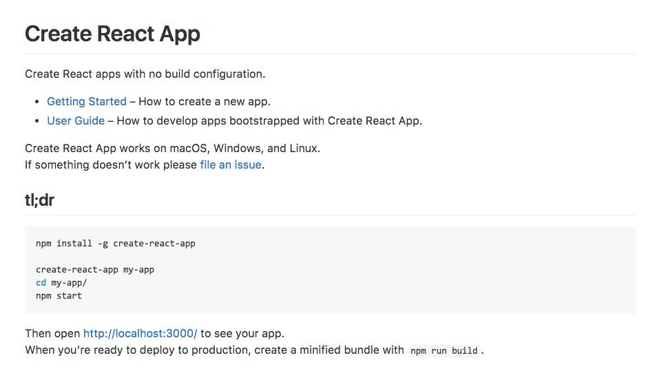 React.js 安装教程图片